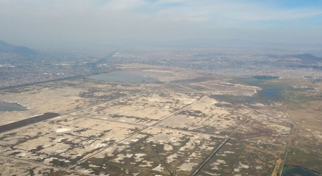 desecación lagos Valle México causó calentamiento 5 grados 500 años