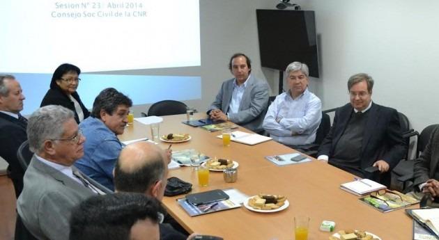 Consejo Sociedad Civil Comisión Nacional Riego Chile establece objetivos 2014