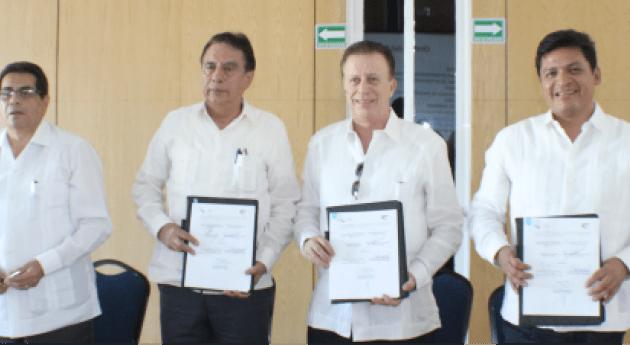 Signan convenio colaboración IMTA-ANEAS Primera Reunión Consejo Directivo