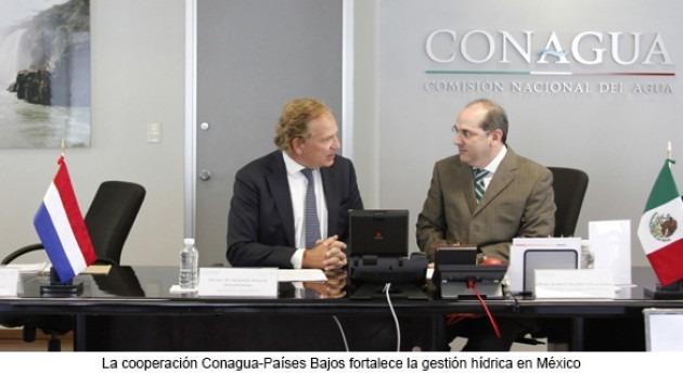 cooperación Conagua-Países Bajos fortalece gestión hídrica México