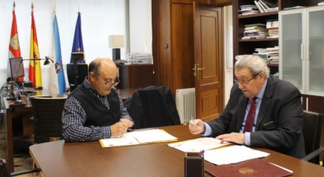 """Acuerdo CHMS y Cortegada ejecución proyecto """"Raia Termal"""" municipio"""