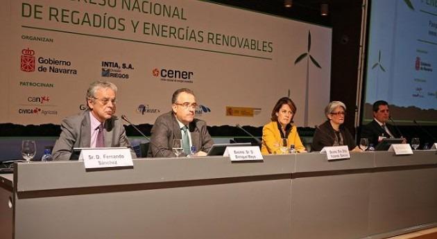 2% gasto energético España se produce regadíos