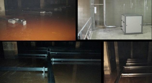 SUEZ elimina compuestos orgánicos volátiles depósito agua San Antonio Benagéber