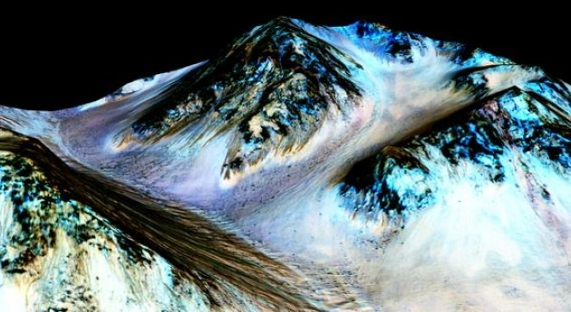 NASA Confirma existencia Agua planeta Marte