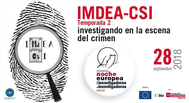 IMDEA-CSI: Investigando escena crimen