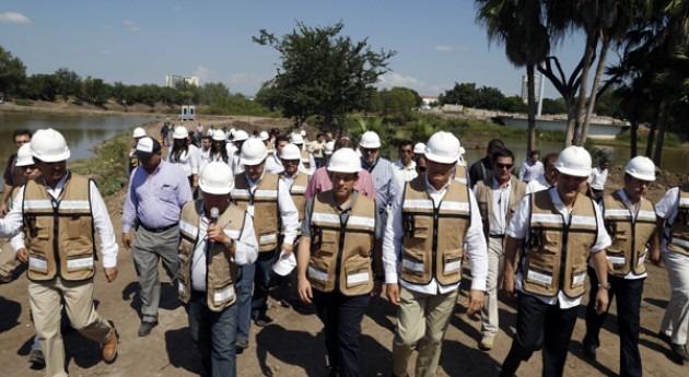 Conagua supervisa obras evitar inundaciones Culicán
