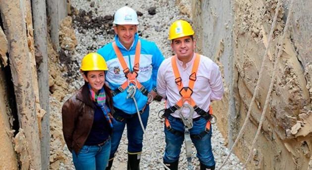 Colombia comienza obras que mejorarán alcantarillado Madrid, Cundinamarca