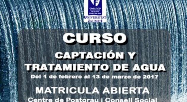 Cátedra FACSA-UJI organiza curso captación y tratamiento agua