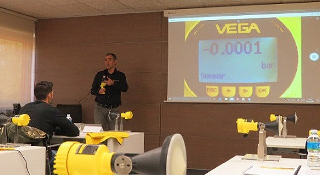 Finaliza 23ª edición seminario puesta servicio transmisores nivel VEGA