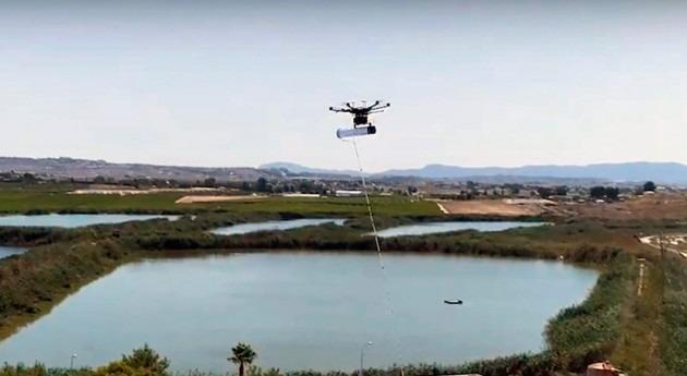 DAM y IBEC desarrollan dron que mejora gestión olores depuradoras aguas