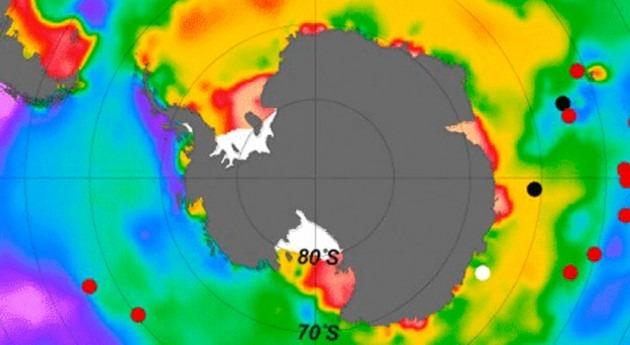 Antártida albergaba depósitos CO2 durante Edad Hielo