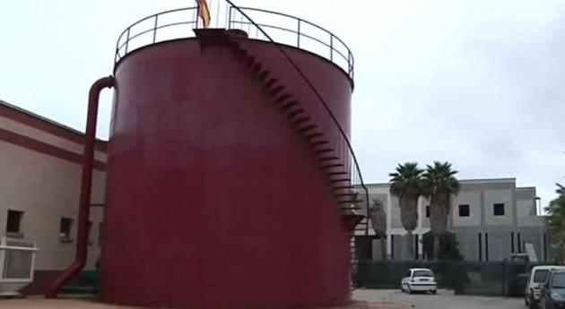 Desaladora en Ceuta.