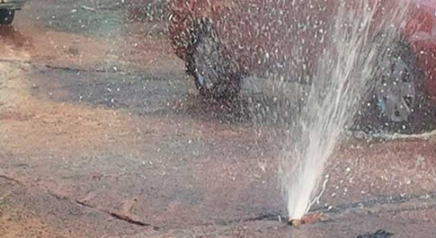 Falta mantenimiento red distribución agua consumo humano
