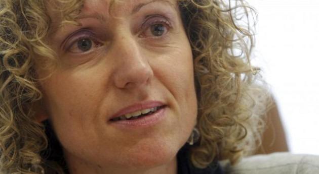 La secretaria general del PSOE cántabro, Eva Díaz Tezanos