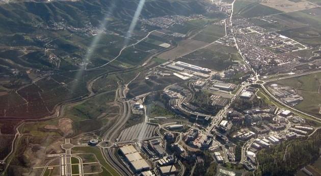 Distrito de Campanillas en Málaga (Wikipedia)