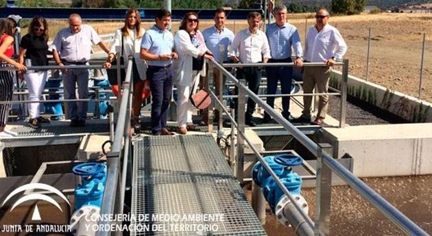 Inaugurada nueva EDAR Aroche, que beneficiará población 7.000 habitantes