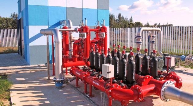 filtración sistemas reutilización aguas residuales EDAR