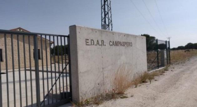 EDAR Campaspero (Valladolid) supone inversión 1,84 M€ y dará servicio 2.470 vecinos