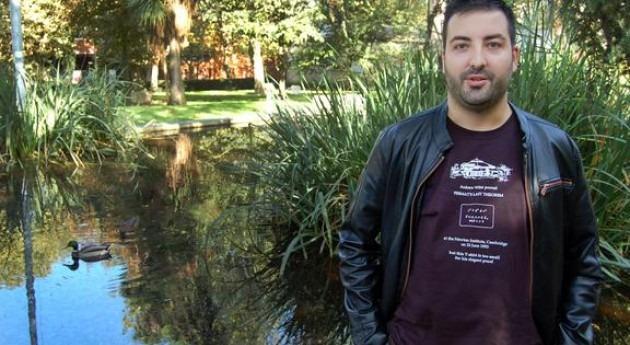 El investigador de la Universidad de Vigo Juan Añel