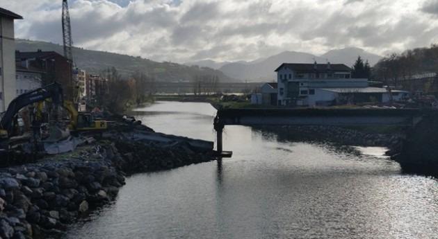 URA inicia retirada antigua pasarela peatonal Pilar Martutene