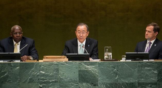 El Secretario General de la ONU, Ban Ki-moon Foto. ONU/Cia Pak