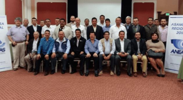 Asociados ANEAS eligen Consejeros Estatales cinco regiones