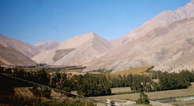 Valle del Elqui (Wikipedia/CC).