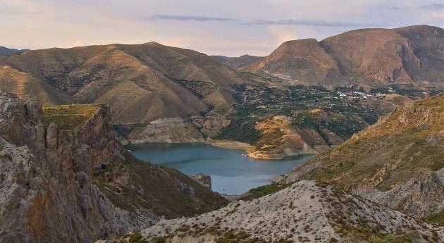 Embalse de Canales en Güejar Sierra