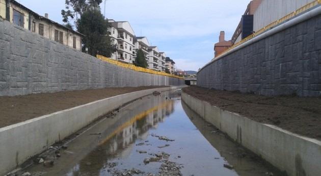 inversión mejora hidráulica río Gobela Getxo asciende 25 millones euros