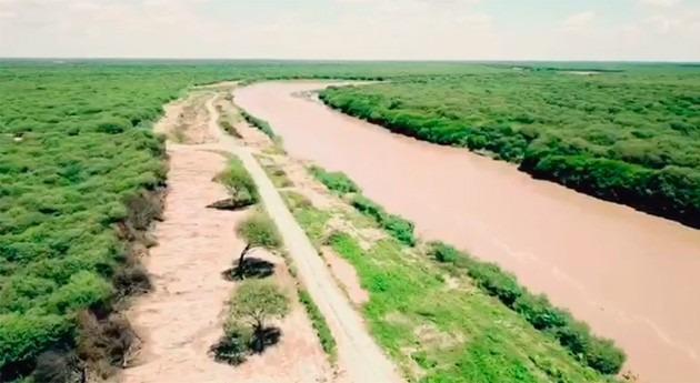 trabajos realizados río Pilcomayo contienen posible inundación