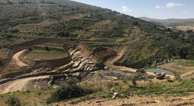 Finalizado desvío río Mayor dentro obras presa San Pedro Manrique Soria