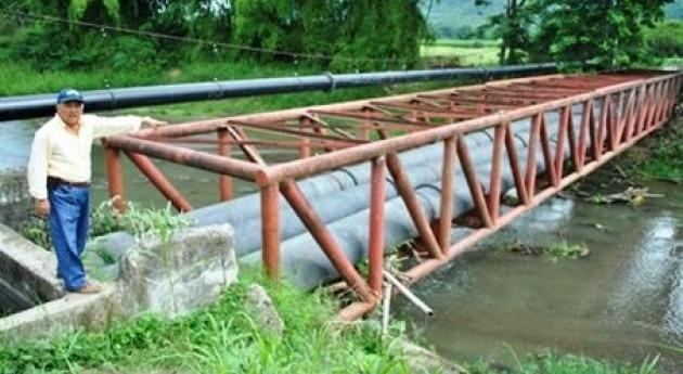 Finalizan trabajos protección estructura canal riego Proyecto Poza Honda