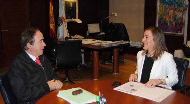 La conselleira de Medio Ambiente, Territorio e Infraestructuras, Ethel Vázquez