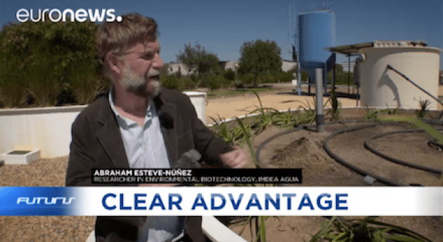 segunda vida aguas residuales coste energético cero: iMETland Euronews