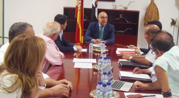 Extremadura apoya reivindicaciones regantes Tajo y Guadiana reforma energética