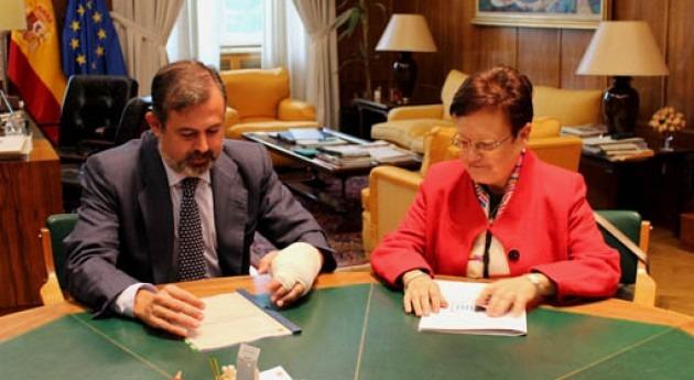 Luisa Pastor y Federico Ramos