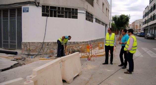 Alcalà-Alcossebre y FACSA renuevan 4 kilómetros red agua potable