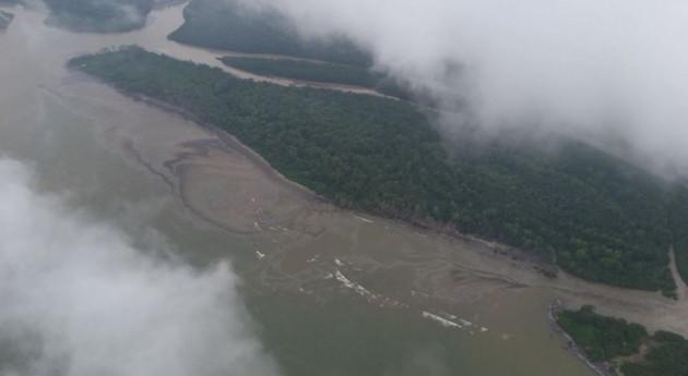 Imágenes del anterior derrame en Tumaco (Ecopetrol).