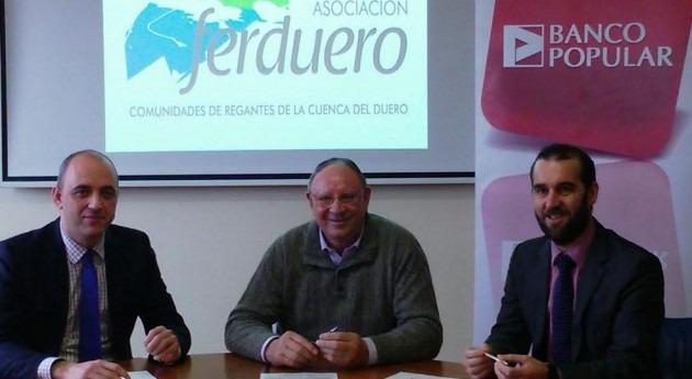 Banco Popular facilitará productos y servicios Ferduero desarrollo agrario