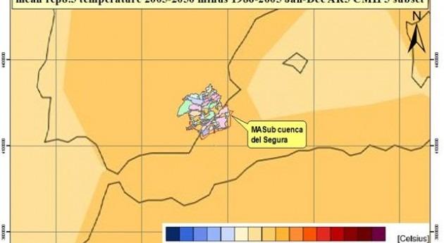 ¿Influye cambio climático cuenca Segura?