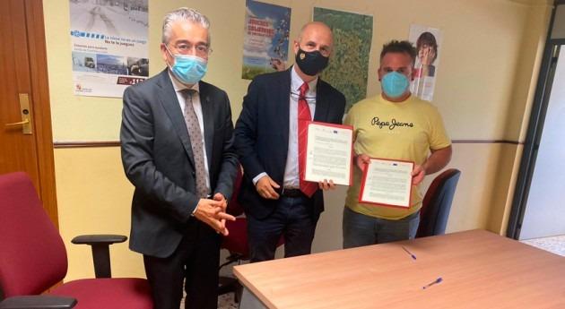 Castilla y León presta apoyo regantes Berokia mejorar seguridad presa