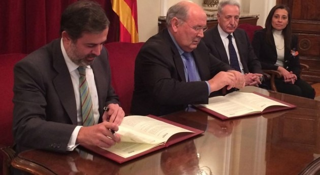 """Riegos Alto Aragón atribuye firma protocolo Biscarrués """"al esfuerzo regantes"""""""