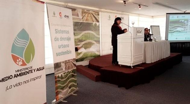 Expertos internacionales forman técnicos bolivianos drenaje pluvial