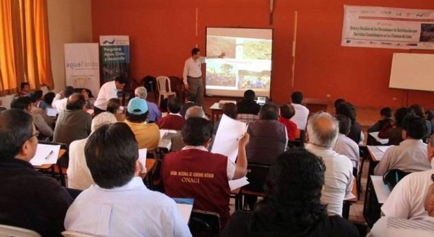 SUNASS participa foro mecanismos retribución servicios ecosistémicos