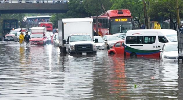 basura acumulada y falta infraestructuras México agravan inundaciones