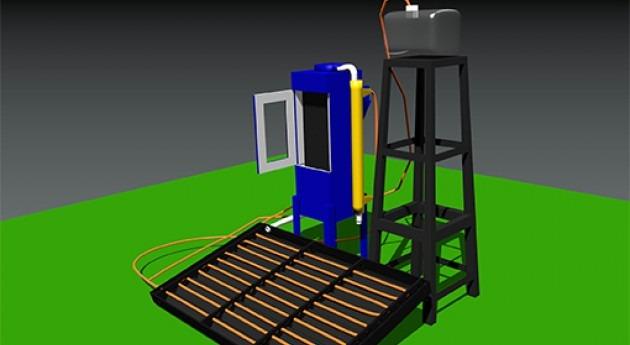 estudiante UNAM crea desalinizador agua mar base energía solar