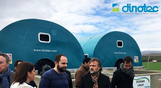 DINOTEC entrega EDAR Teba, Málaga