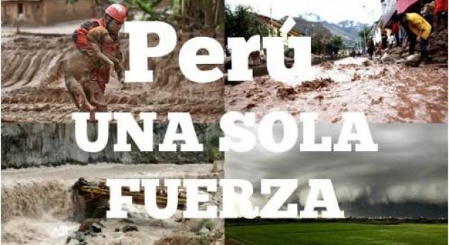 Perú aguas: 1 millón personas afectadas huaicos e inundaciones