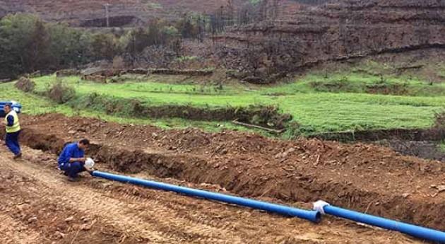 Saint-Gobain PAM España, presente obras emergencia Sierra Gata