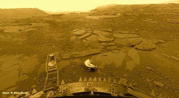 ¿Dónde está agua Venus?